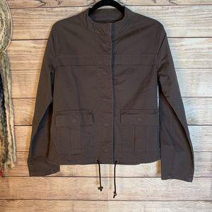 Sanctuary Charcoal Black Hem String Utility Jacket